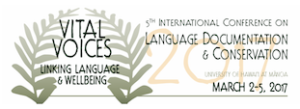 5th international conference on language documentation & conservation (icldc) @ Hawaiʻi Imin International Conference Center  | Honolulu | Hawaii | United States